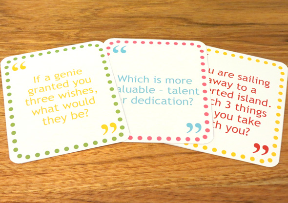 Childhood 101 | Family conversation cards