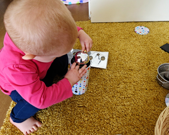 Childhood 101   Heuristic Play - Treasure Basket - Baby Play