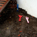 Mud play space - outdoor play in small spaces