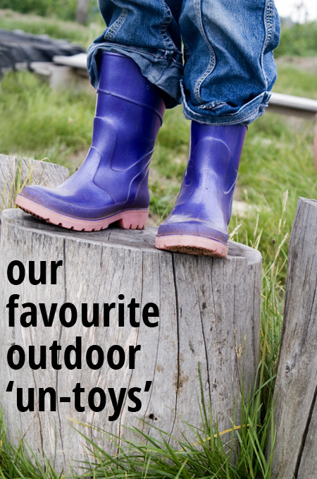 Our Favourite Outdoor 'Un-Toys'