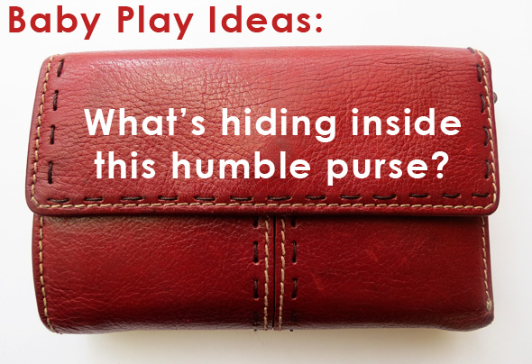 baby play ideas - the play purse