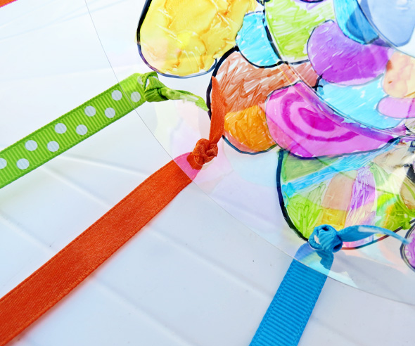 Art Projects for Kids_Recycled Koinobori Kite