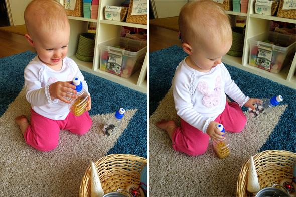 Childhood 101 | Activities for Babies -Exploring Sound Treasure Basket