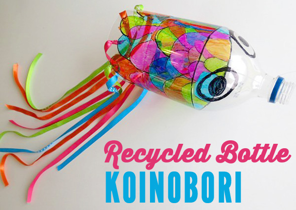 Childhood-101-Art-Projects-for-Kids_Recycled-Bottle-Koinobori-Wind-sock
