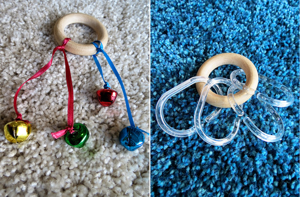 Childhood 101   Baby Play Activities -Exploring Sounds Treasure Basket