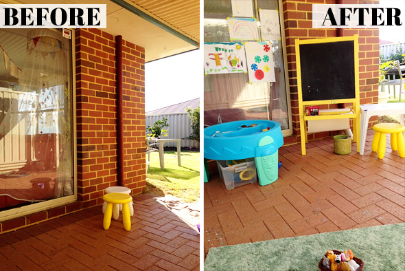 Childhood 101 | Creating an Undercover, Outdoor Play Space for every season