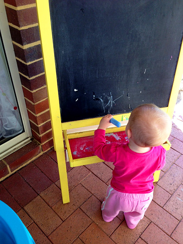 Childhood 101 | Creating in our Undercover, Outdoor Play Space