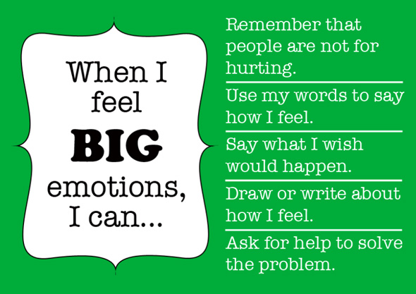 Childhood 101 | Managing BIG Emotions poster