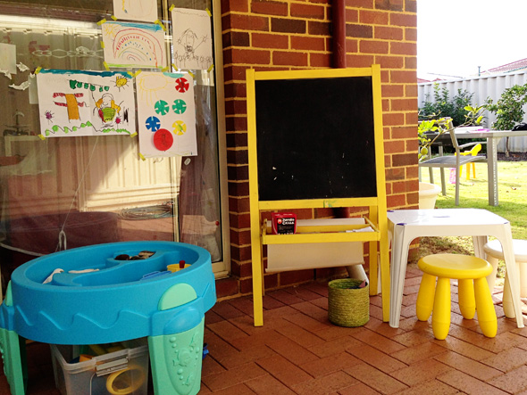 Childhood 101 | Ideas for Outdoor Play Spaces