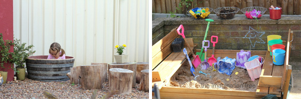 Childhood 101   Outdoor play space - how to build a sandpit