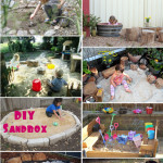 Childhood 101 | Outdoor play - tips for building a backyard sand box