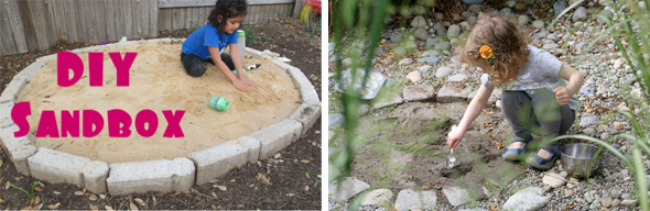 Childhood 101   Outdoor play - tips for building a sand box