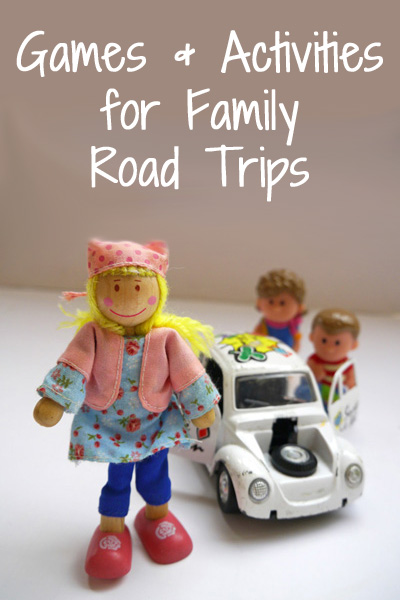 Game and activity ideas for family road trips