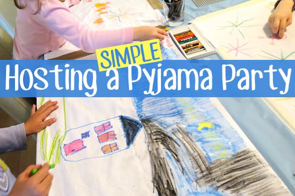 Pyjama Party Sleepover Slumber Party Ideas