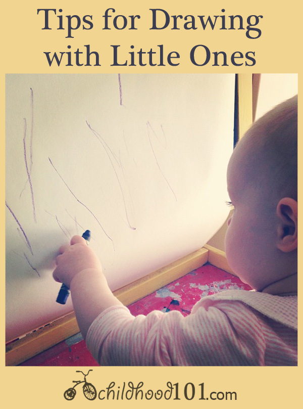 Childhood 101 | Tips for drawing with toddlers