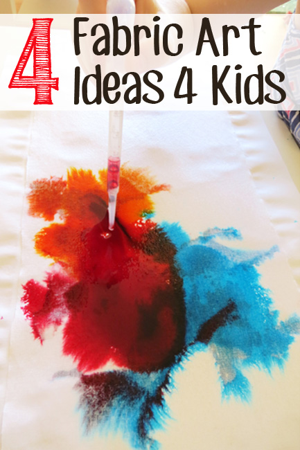 Time to Create | 4 Fabric Art Ideas for Kids