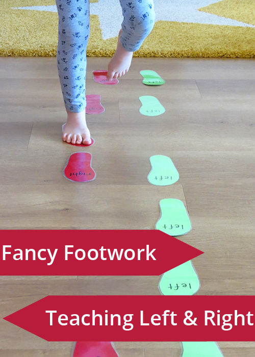 Left and Right Games: Fancy Footwork