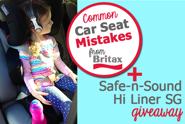Common Car Seat Mistakes + a Giveaway