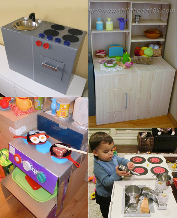 Encouraging Imaginative Play Play Kitchen Inspiration
