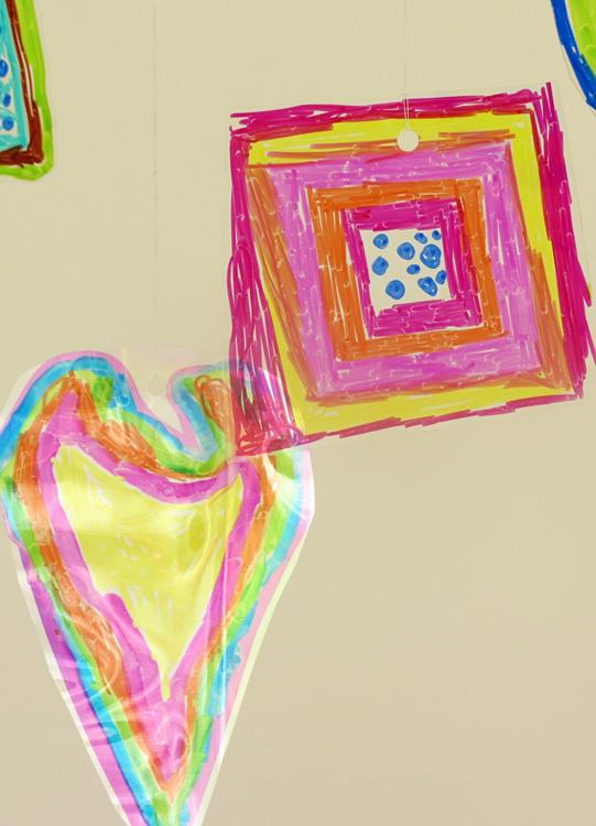 Exploring Colour & Light: Kandinsky Inspired Mobile