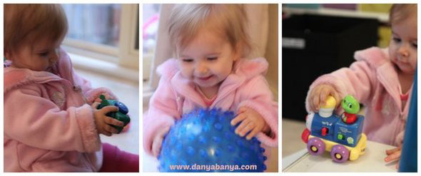 Baby Play Ideas-Exploring Balls and Ramps