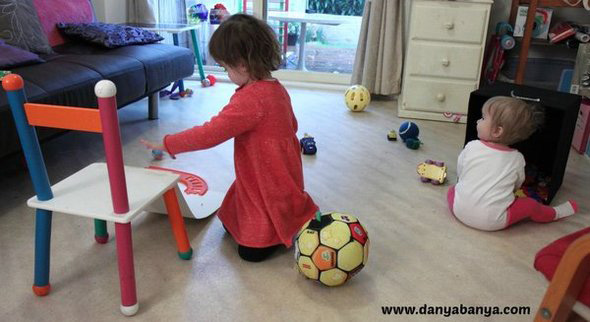 Baby Play Ideas-Ramps and Rolling Exploration