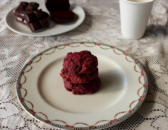 Easy Choc Beetroot Biscuit Recipe