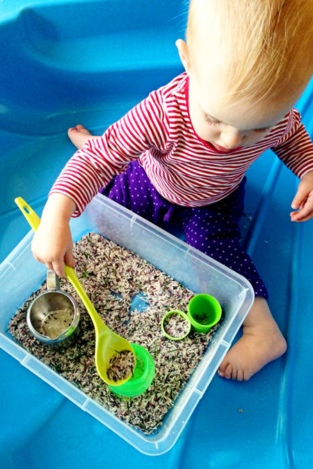 rice activities for preschoolers sensory play with rosemary rice childhood101 410