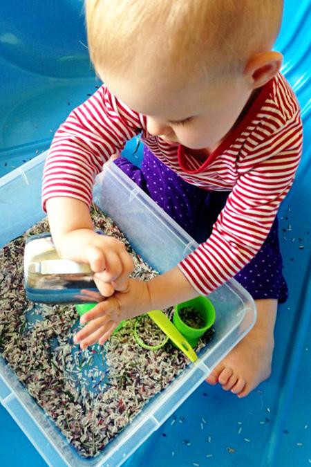 Childhood 101 Sensory Play Activity-Rosemary Rice