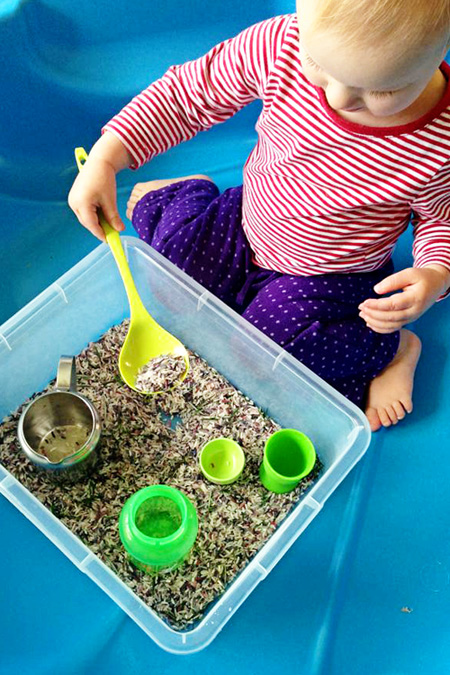 Childhood 101 Sensory Play Ideas-Rosemary Rice
