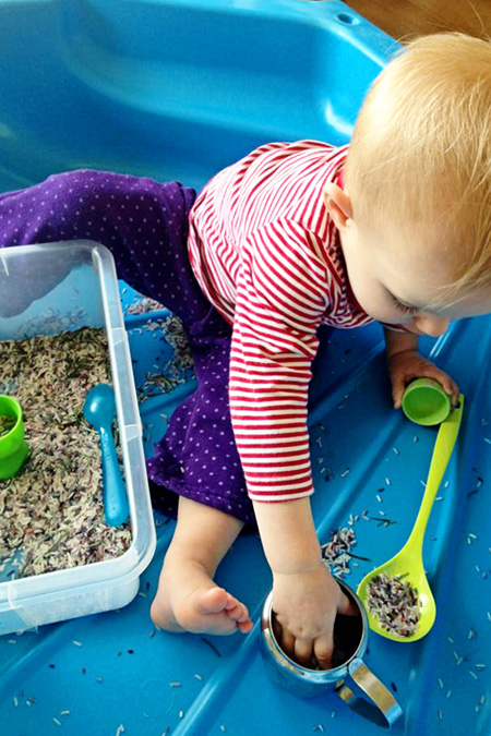 Childhood 101 Sensory Play Rosemary Rice