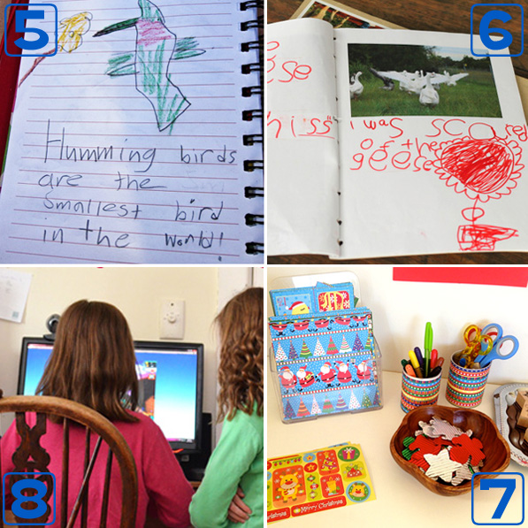 Encouraging beginning writers with purposeful writing opportunities