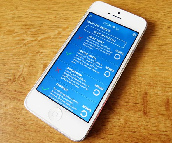 OPSM Eye Check App