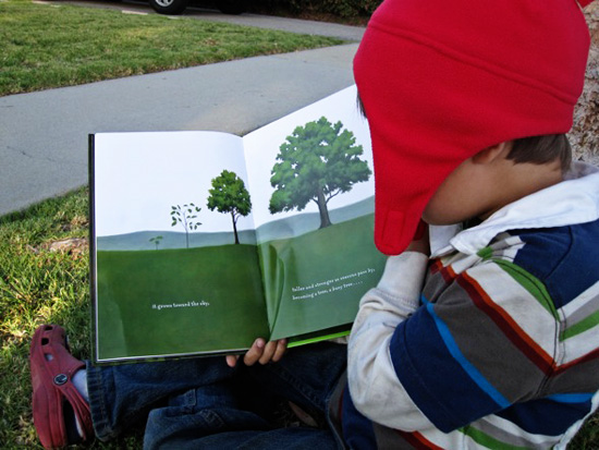 Outdoor Literacy Ideas-Read Outdoors