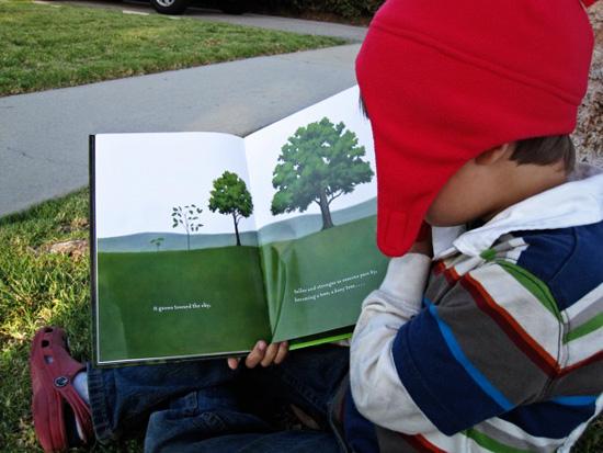 Outdoor Literacy Ideas-Read Outdoors