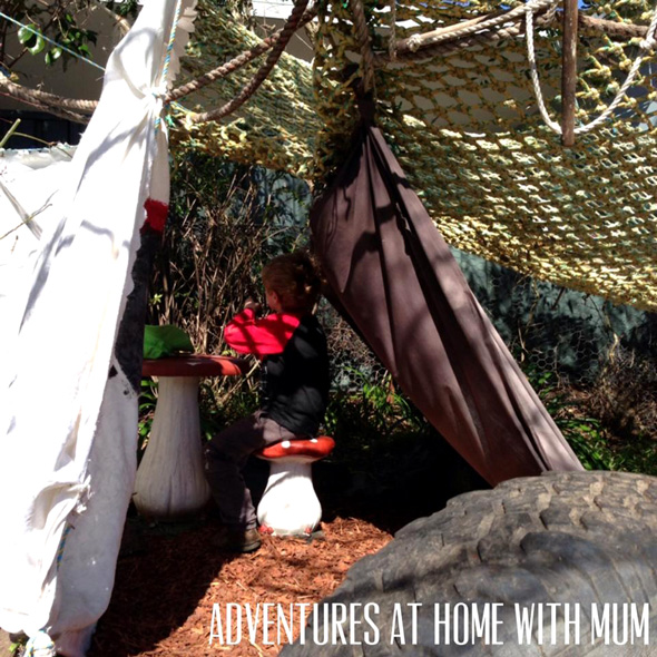 Outdoor Play Ideas: Pirate Hide-Away