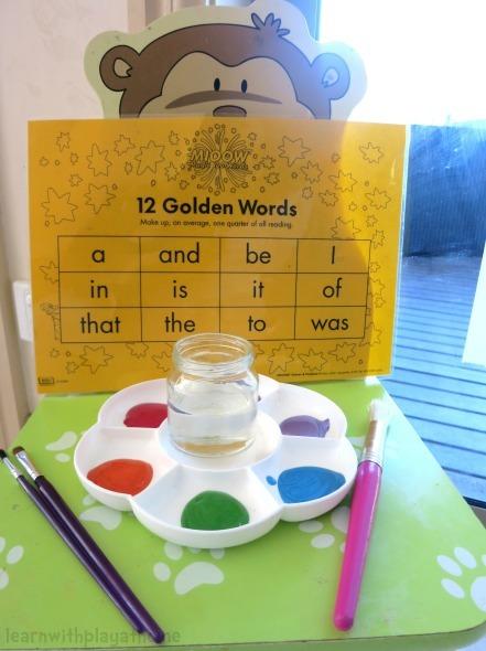 Sight words activity ideas