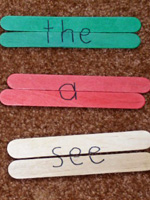 Popsicle-Stick-Sight-Word-Puzzles