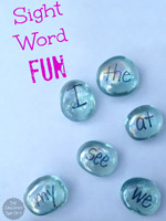Sight Word Fun with Gems