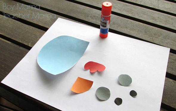 WIndblown by Edouard Manceau book activity idea