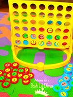 connect four with sight words