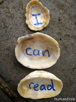 sight word seashells