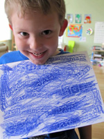 sight words crayon rubbing activity
