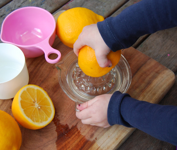Easy Homemade Lemonade Recipe | Cooking with Kids