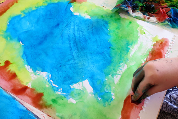 Childhood 101 | Ice painting activity