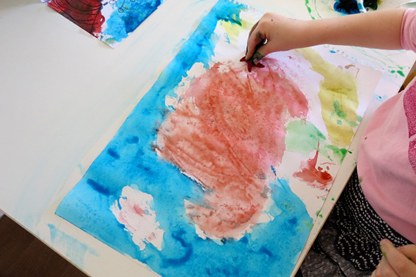 Childhood 101 | Painting  ideas for preschool