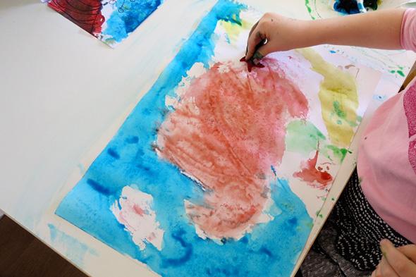 Childhood 101 | Painting  ideas for preschool