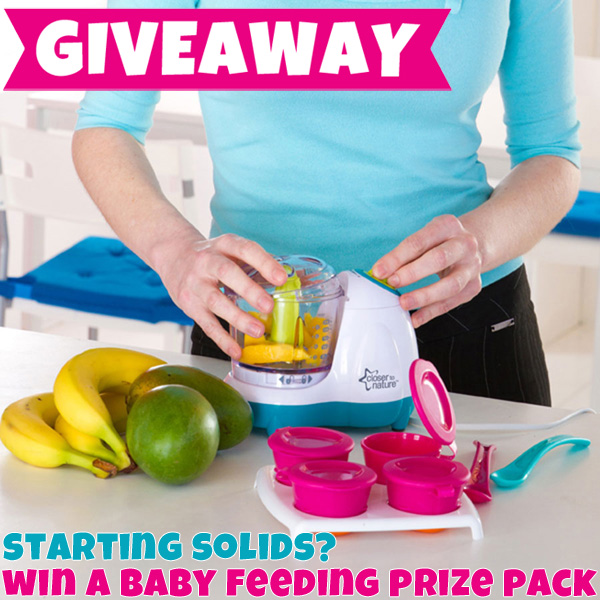 Closer to Nature Baby Feeding Giveaway