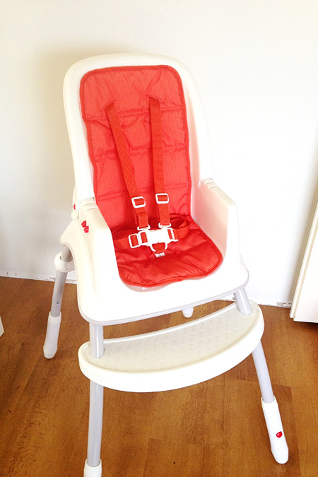 Fisher Price Grow with Me High Chair Review & Giveaway