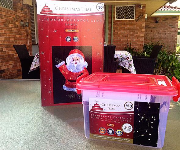 Christmas entertaining ideas- light it up